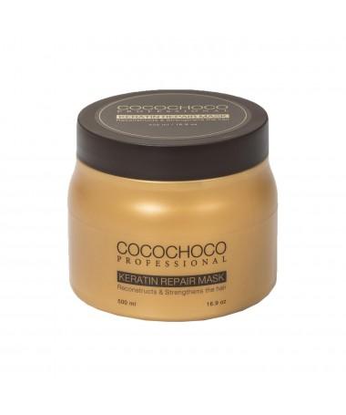 Masque capillaire professionnel à la kératine 500ml COCOCHOCO